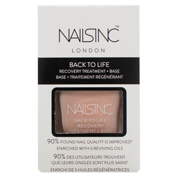 nails inc. Back to Life Recovery Treatment and Base Coat 14ml | Free ...
