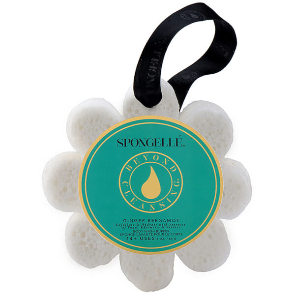 Spongellé Boxed Flower Body Wash Infused Buffer - Ginger Bergamot