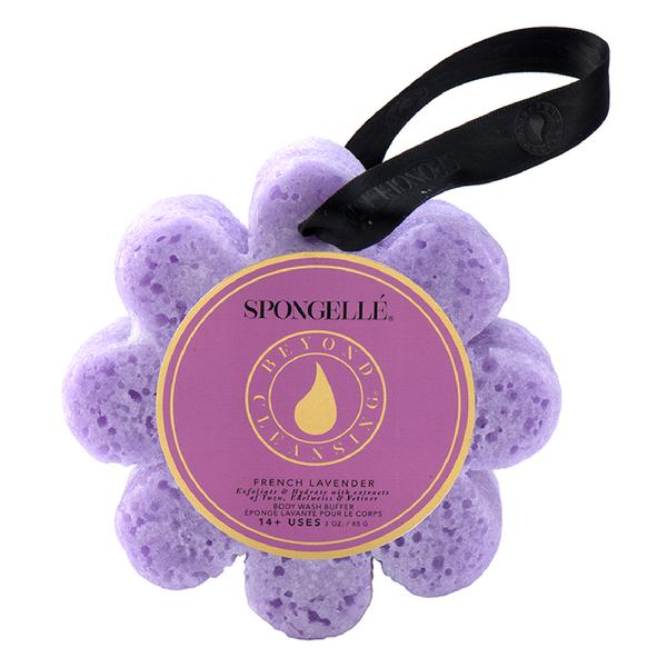 Spongellé Wild Flower Body Wash Infused Buffer - French Lavender