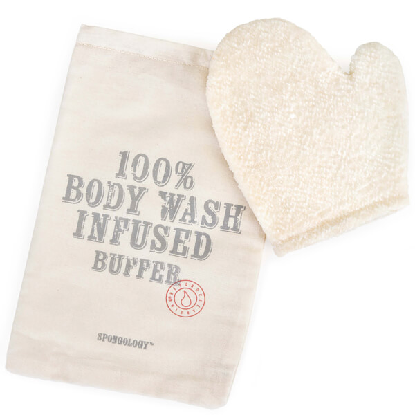 Spongellé Spongology Body Wash Infused Anti-Cellulite Glove - Milk & Honey