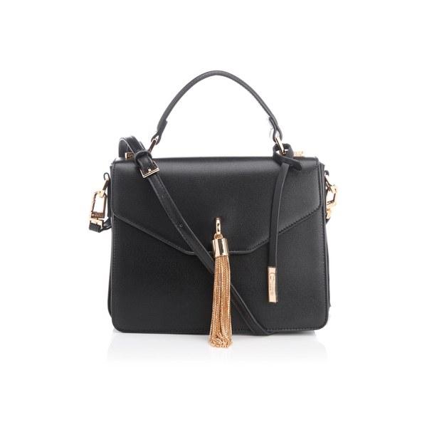 027b29ae0ad1 Dune Women s Delina Tassel Box Bag - Black  Image 1