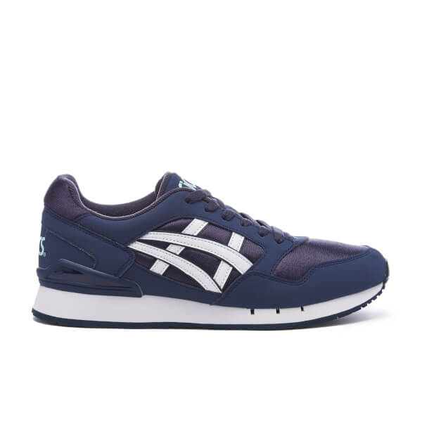 Asics Lifestyle Men's Gel-Atlanis Trainers - India Ink/White: Image 1