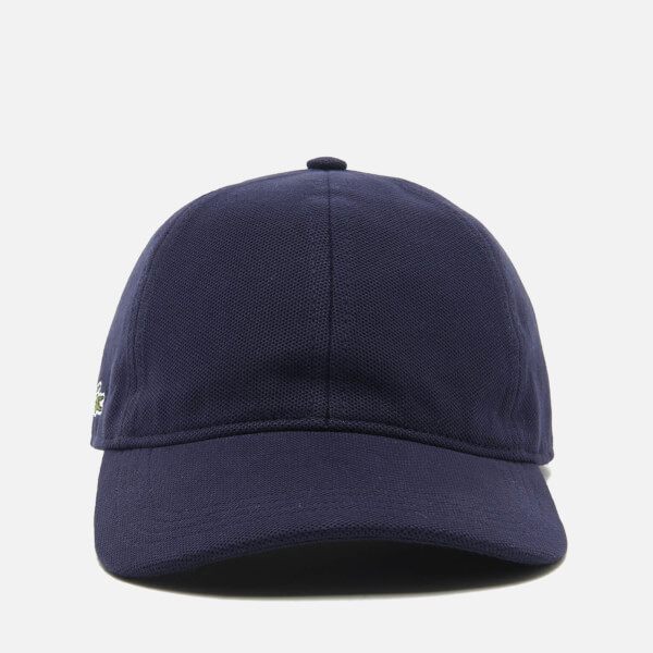 lacoste navy blue baseball cap men side marine