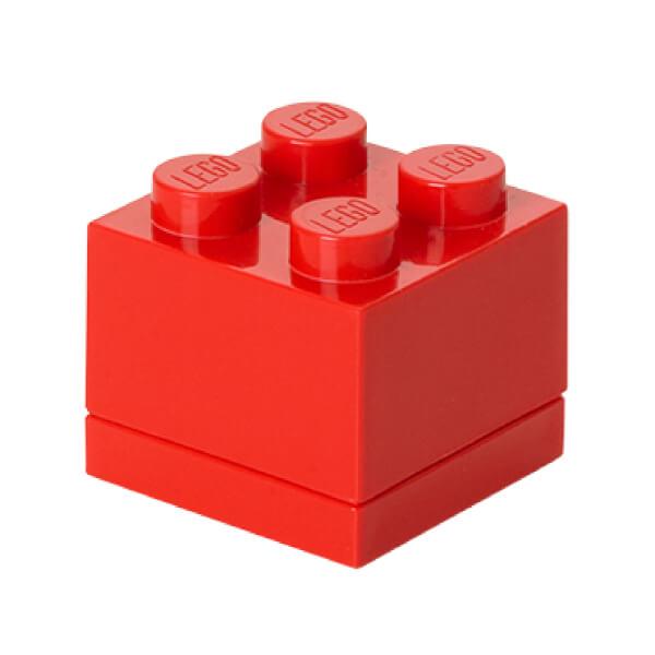 LEGO Mini Box 4 - Bright Red