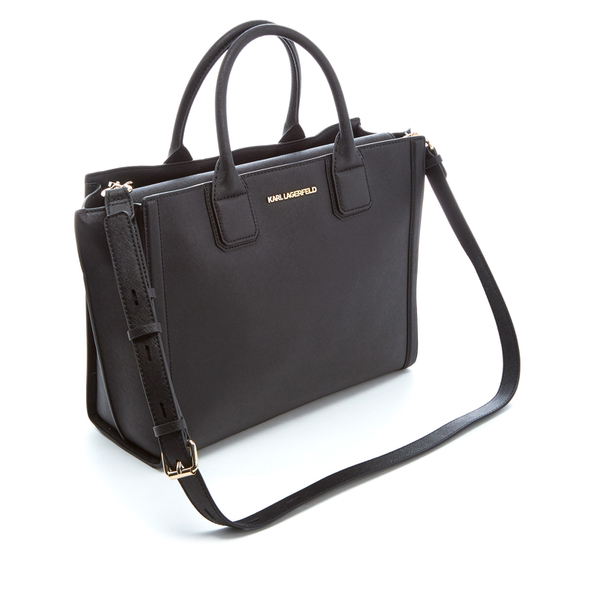 Karl Lagerfeld Women S K Klik Office Tote Bag Black Image 4
