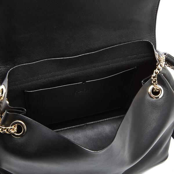 ecd6fec967 Karl Lagerfeld Women s K Slouchy Shoulder Bag - Black  Image 5