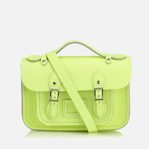 The Cambridge Satchel Company Women's Mini Satchel - Neon Yellow