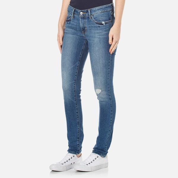 Levi s Women s 711 Skinny Jeans - After Life Clothing   TheHut.com 5f4c41555135