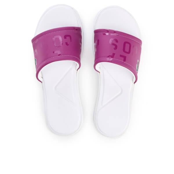 Lacoste Women's L.30 Slide 117 1 Slide Sandals - Purple
