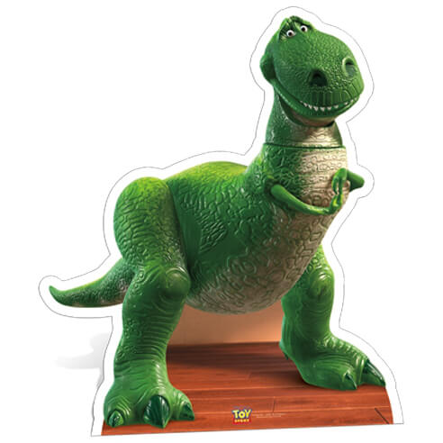 Rex the Dinosaur Mid Sized Cut Out