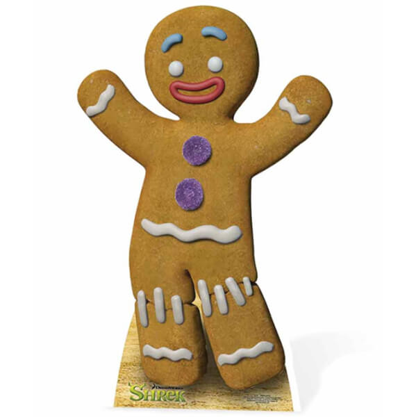 Silhouette d coup e en carton ti biscuit shrek merchandise - Ti biscuit shrek ...