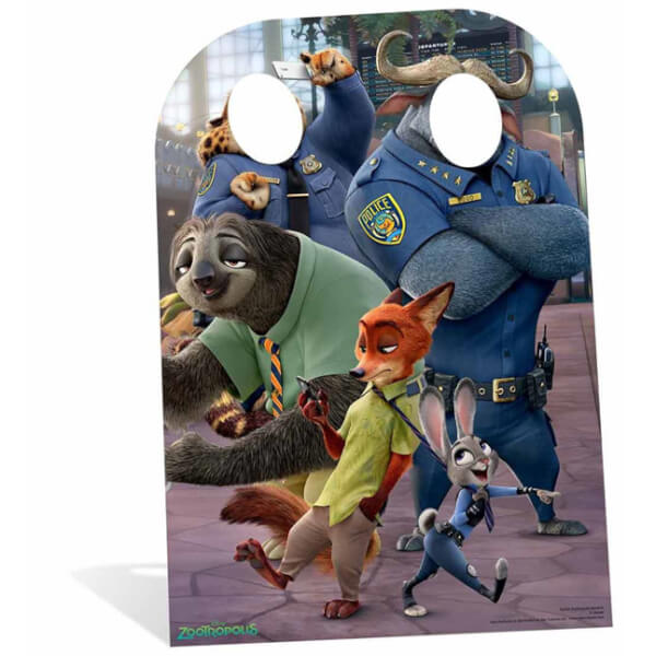 Zootropolis Child Stand In Cut Out