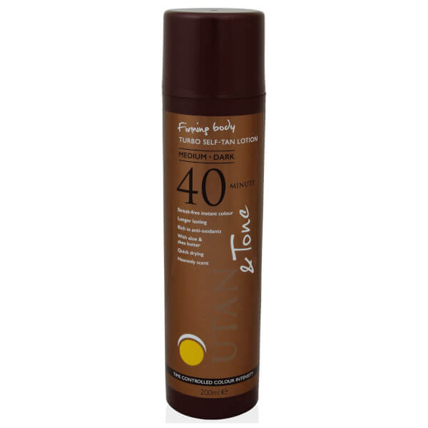UTAN and Tone Time Controlled Turbo Tan 200ml