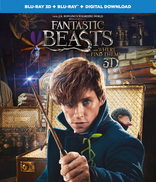Fantastic Beasts and Where To Find Them 3D (Includes 2D Version)