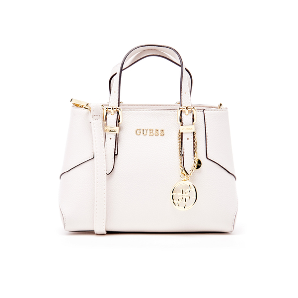 69eb93496860 Guess Women s Isabeau Mini Box Satchel - White Clothing