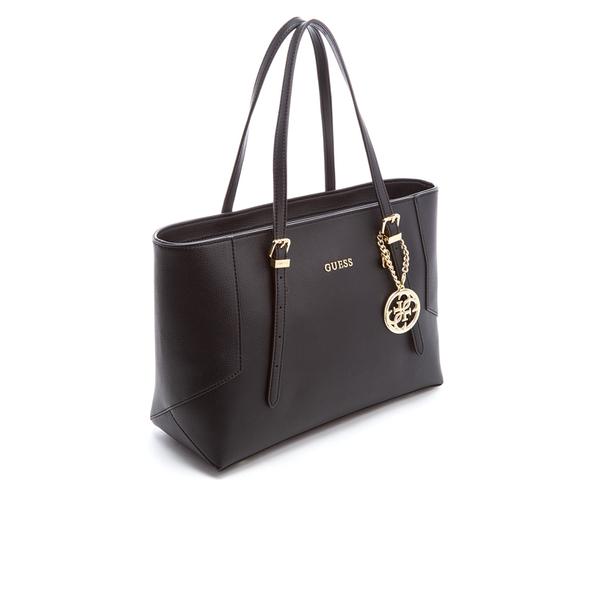 Guess Women S Isabeau Tote Bag Black Image 4
