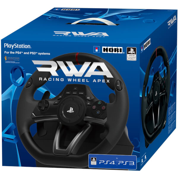 Hori Rwa Officially Licensed Racing Wheel Apex Controller