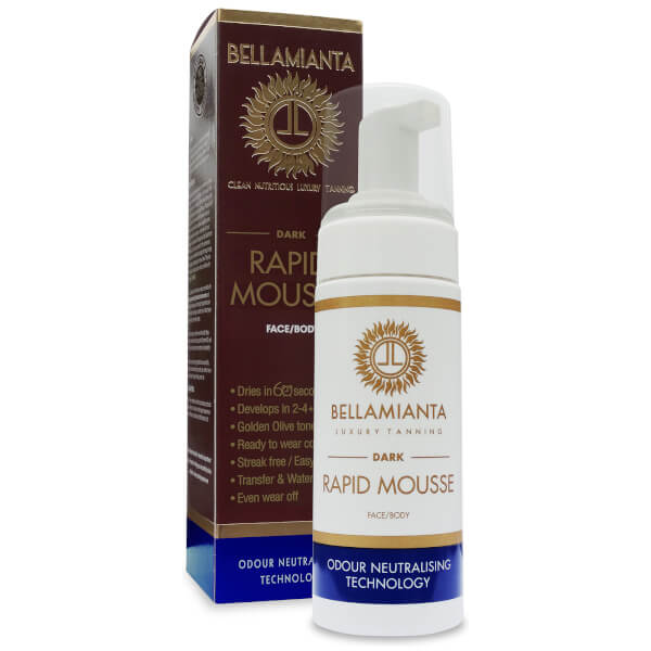 Bellamianta Self Tanning Tinted Mousse - Medium 150ml