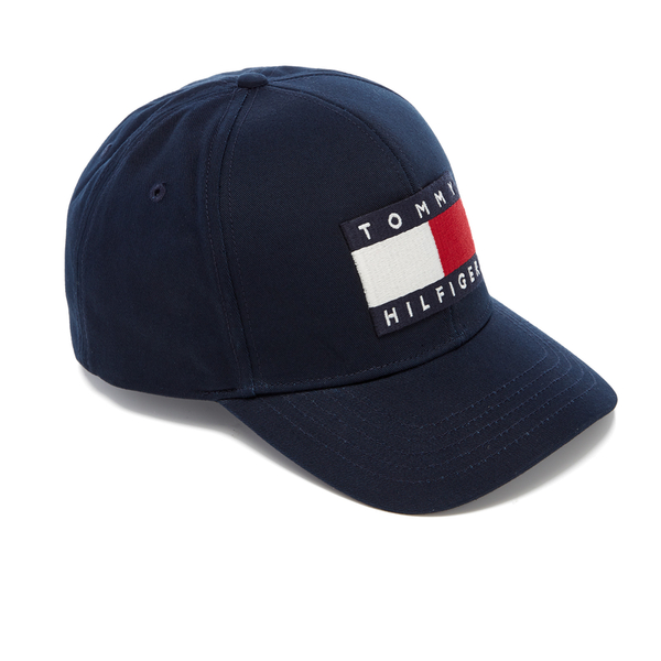 Tommy Hilfiger Men s Large Logo Cap - Navy Blazer Clothing  d23d86abda7