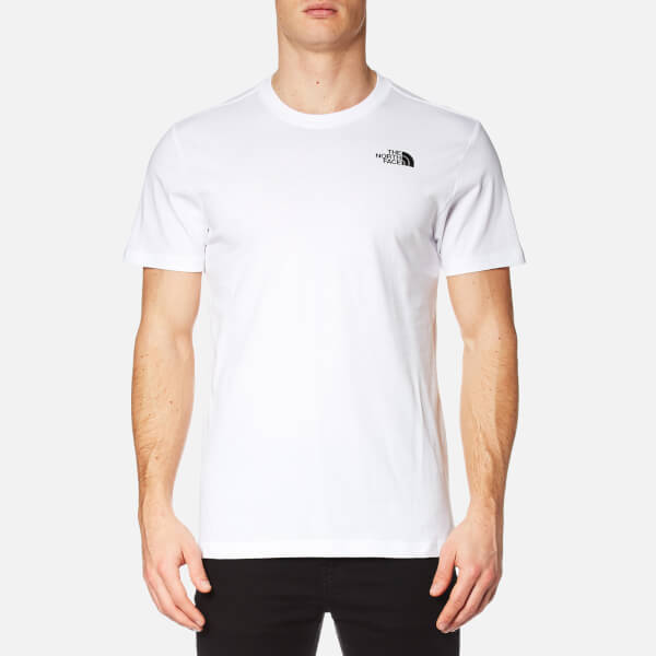 The North Face Men s Short Sleeve Red Box T-Shirt - TNF White  Image 18331b22c2f7