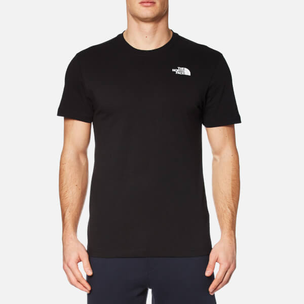37180f64f The North Face Men s Red Box T-Shirt - TNF Black Clothing
