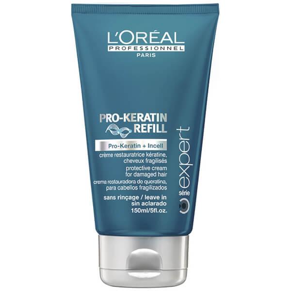 L'Oréal Professionnel Pro-Keratin Refill Reinforcing Blow-Dry Cream 5 fl oz
