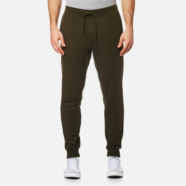 1e3b88ebcf6713 Polo Ralph Lauren Men s Double Knitted Tech Joggers - Company Olive  Image 1