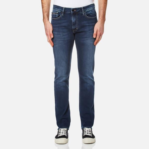 Mens Skinny-True Mid Blue Jeans Calvin Klein Jeans 1QZdV3U3