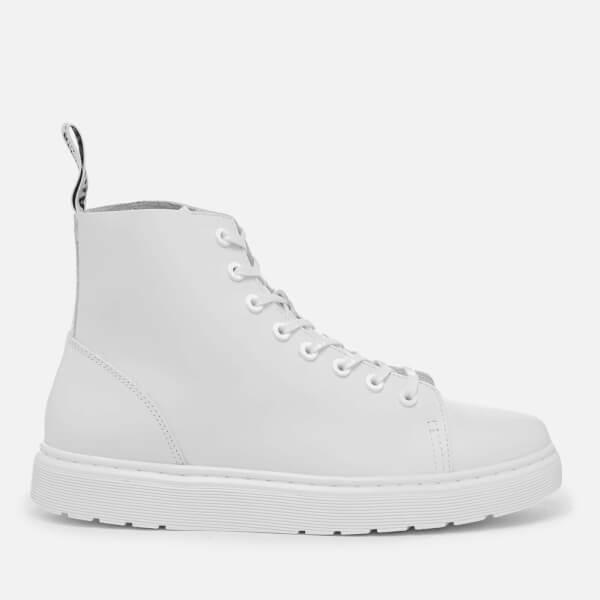 Dr. Martens Vibe Talib 8-Eye Boots - White Venice