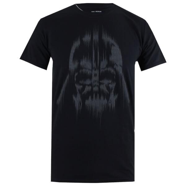 T-Shirt Homme Star Wars Vador Lines - Noir