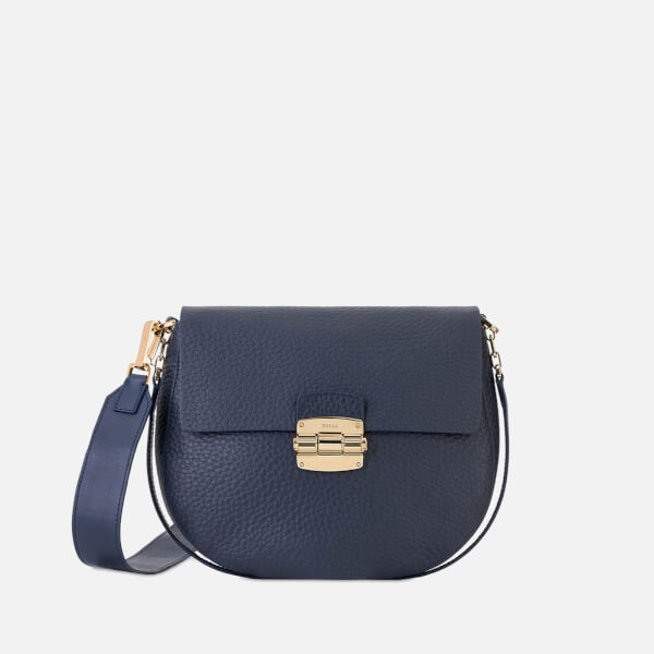 0e2137dffed3 Furla Women s Club S Cross Body Bag - Navy B  Image 1
