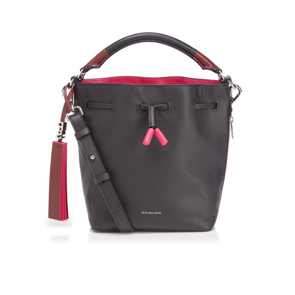 Ps By Paul Smith Women S Leather Mini Bucket Bag Black Image 1