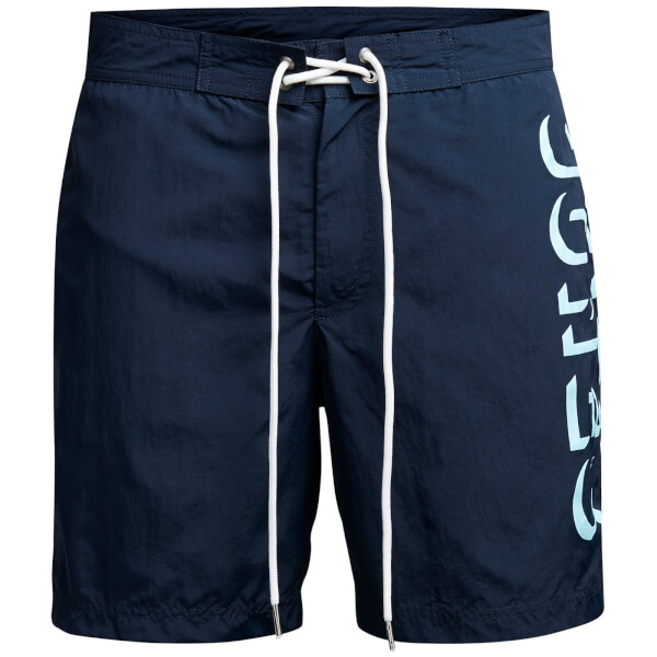 Jack & Jones Men's Classic Board Shorts - Navy Blazer