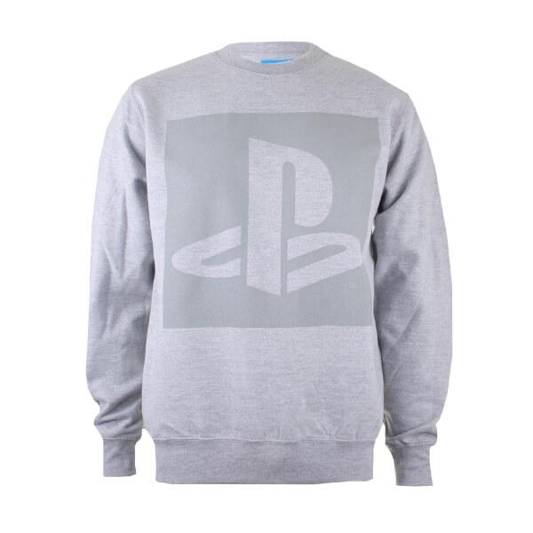Sudadera PlayStation Logo - Hombre - Gris
