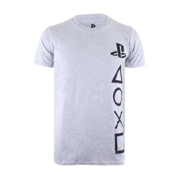 T-Shirt Homme Symboles PlayStation - Gris