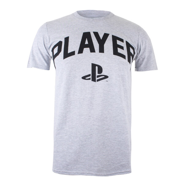 PlayStation Men's Player T-Shirt - Sports Grey