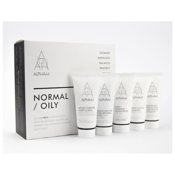 Alpha-H Normal/Oily 5 piece Skincare Kit