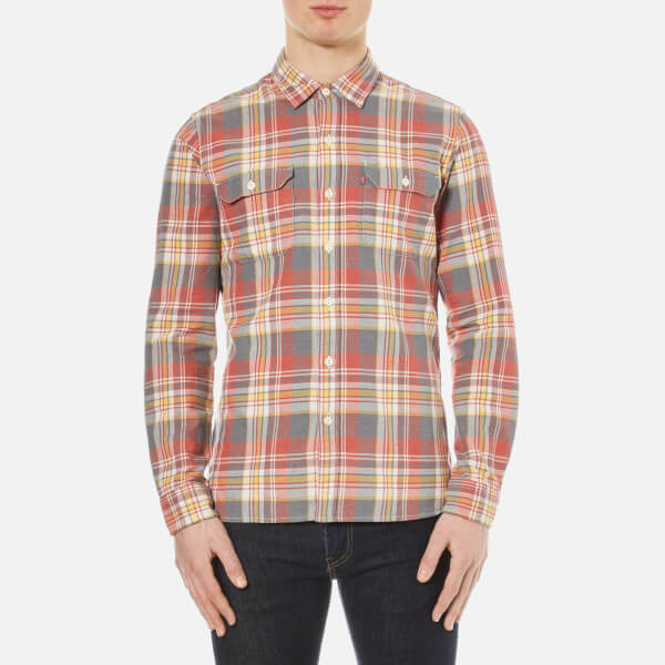 Levi's Men's Jackson Worker Shirt - Piva Pewter