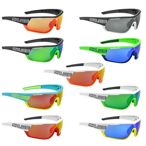 salice occhiali Salice 009RW Sonnenbrile, Weiß