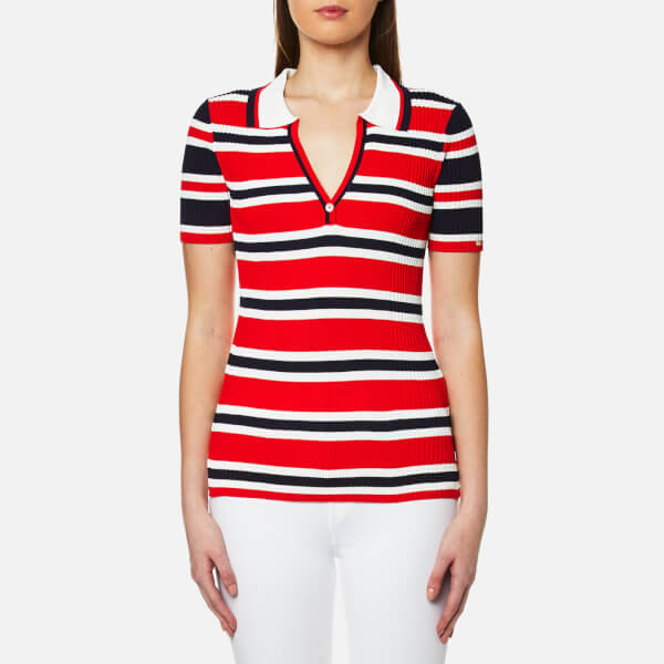 Womens Taylor Short Polo Shirt Tommy Hilfiger Discount 2018 Newest Official Site Discount Eastbay vQEv7pK7e