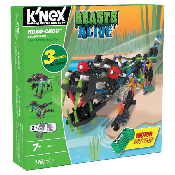 K'NEX Beasts Alive Robo Croc Building Set (34407)