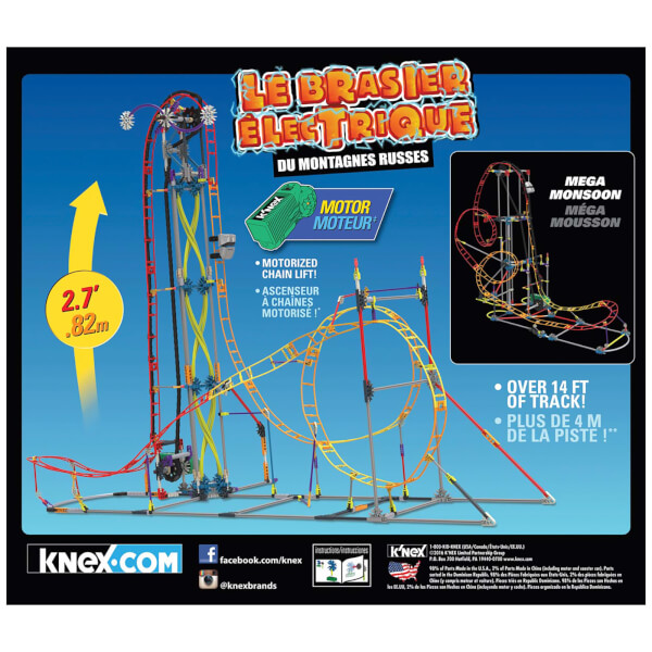 k nex electric inferno instructions