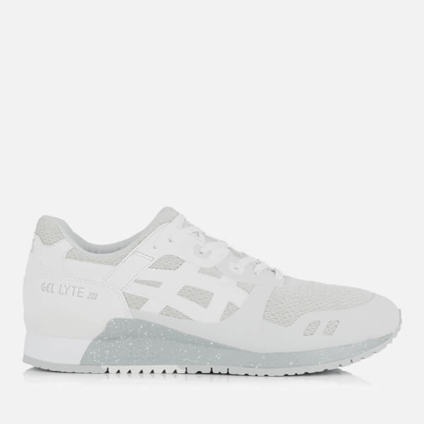 Asics Lifestyle Men's Gel-Lyte III Ns Mesh Trainers - Glacier Grey/White