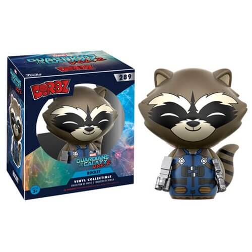Guardians of the Galaxy Vol. 2 Rocket Raccoon Dorbz Vinyl Figure