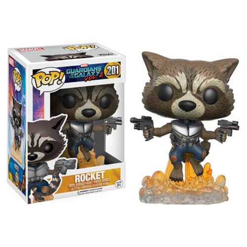 Guardians of the Galaxy Vol 2 Rocket Raccoon Pop Vinyl Figure