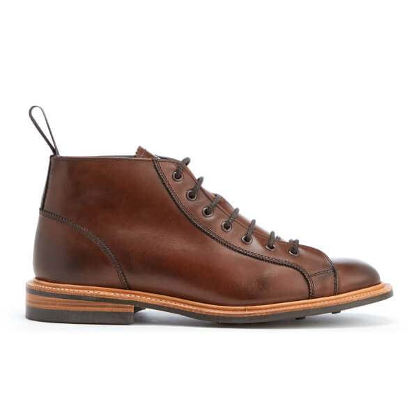 Knutsford by Tricker's Men's Leather Monkey Boots - Chestnut Burnished