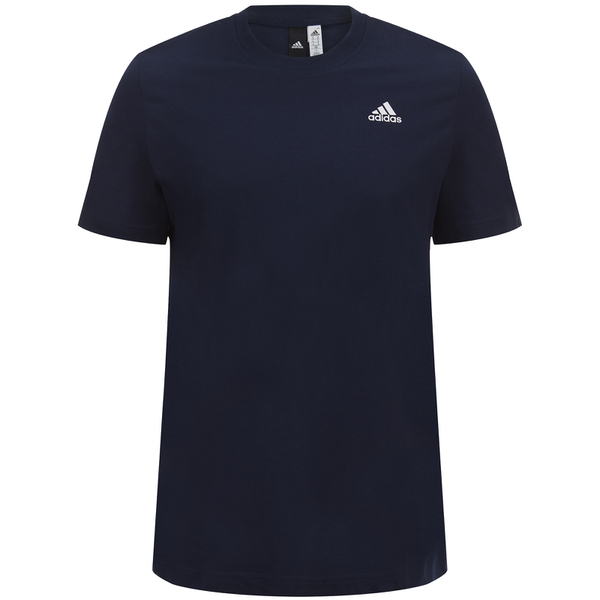 adidas Men's Essential Logo T-Shirt - Navy