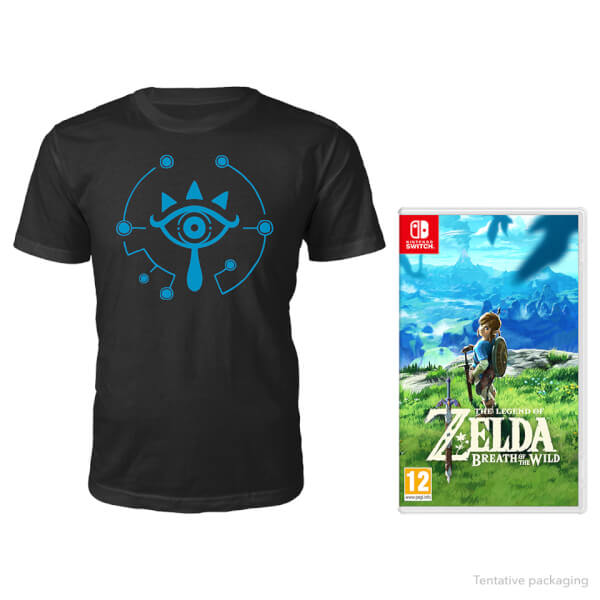 The Legend of Zelda: Breath of the Wild + T-Shirt (Nintendo Switch)