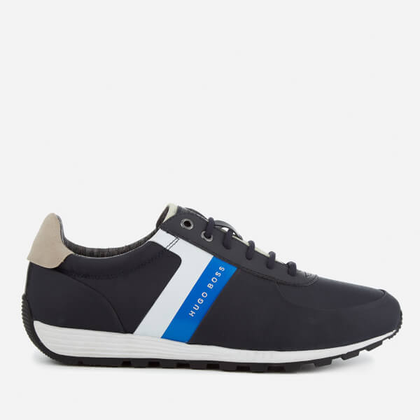 BOSS Green Men's Blast Runn Trainers - Dark Blue