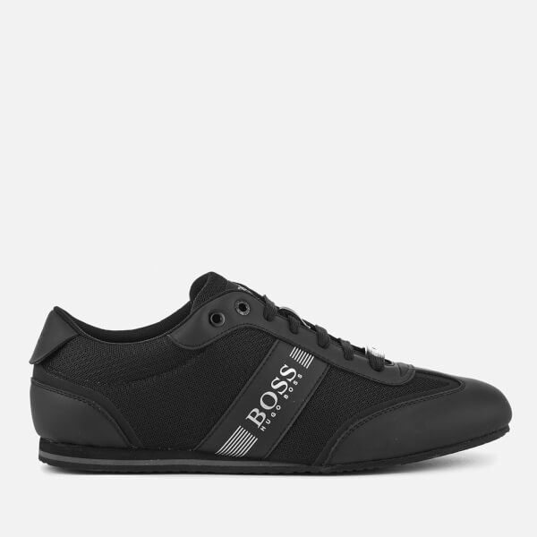 BOSS Green Men's Lighter Mesh Trainers - Black
